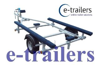 EXTREME 350kg Bunk Boat Trailer - Perfect for Inflatable Dinghies to 3.8m - lightweight